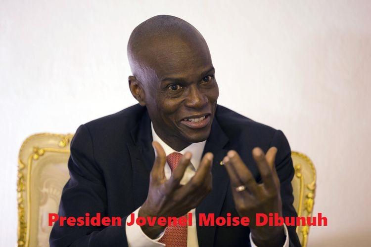 Presiden Jovenel Moise Dibunuh